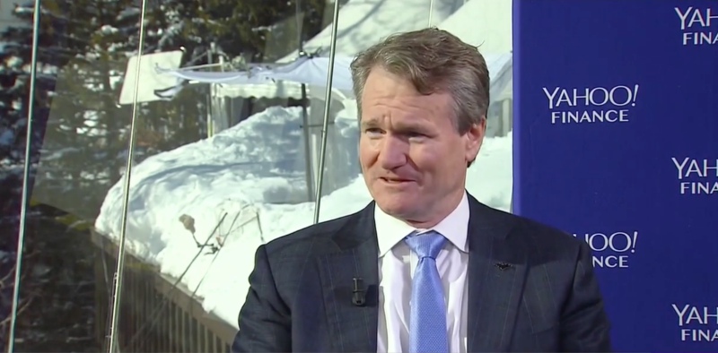 Bank of America CEO Br