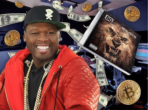 Rapper 50 Cent Inadvertendly Makes Millions in Bitcoin
